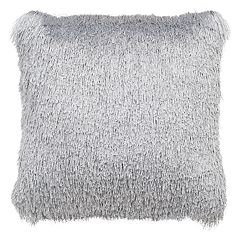Safavieh Soleil Shag Indoor Outdoor Throw Pillow