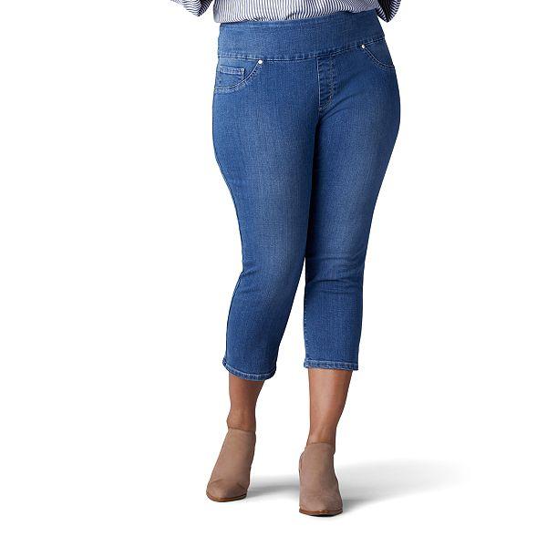 slimming jean capris