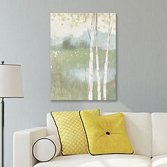 Artissimo Designs Spring Fling II Cool Canvas Wall Art