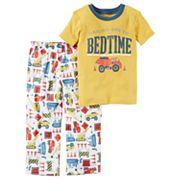 Boys 4-8 Carter's Construction 2 pc Pajama Set