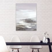 Artissimo Designs Neutral Seascape II Canvas Wall Art