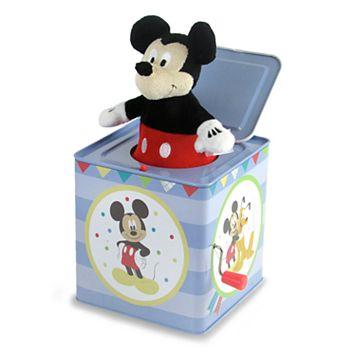 Disney's Mickey Mouse Jack in the Box Toy