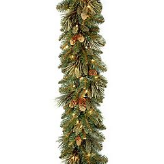 National Tree Company 9-ft. Pre-Lit Carolina Pine Artificial Christmas Garland