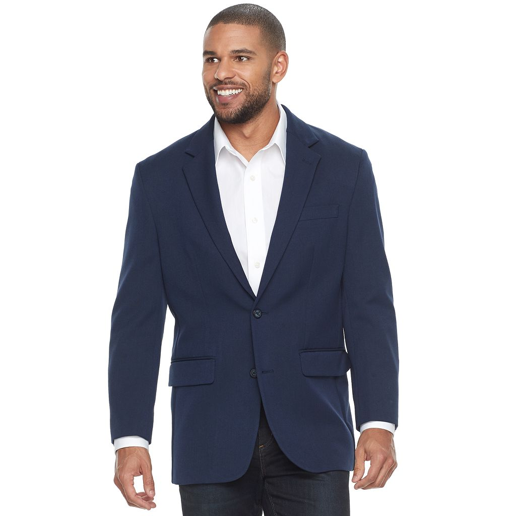 Big & Tall Croft & Barrow® Classic-Fit Essential Sport Coat