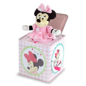 Disney's Minnie Mouse Jack in the Box Toy