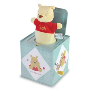 Disney's Winnie The Pooh Jack in the Box Toy