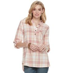 Women's SONOMA Goods for Life™ Button Printed Shirt