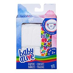 Baby Alive Diapers Refill 6-pack