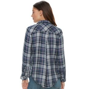 Women's SONOMA Goods for Life? Lace-Up Shirt