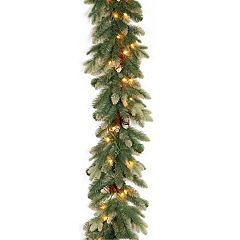 National Tree Company 9-ft. Pre-Lit Copenhagen Spruce Artificial Christmas Garland