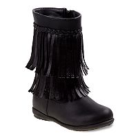 Rugged Bear Toddler Girls' Fringe Boots