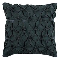 Rizzy Home Petals Floral Applique Throw Pillow