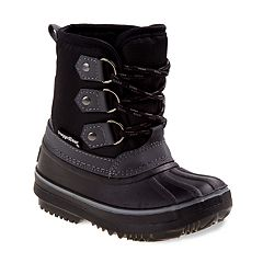 Rugged Bear Boy's Winter Duck Boots