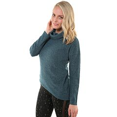 Women's Soybu Serene Asymmetrical Hem Sweater
