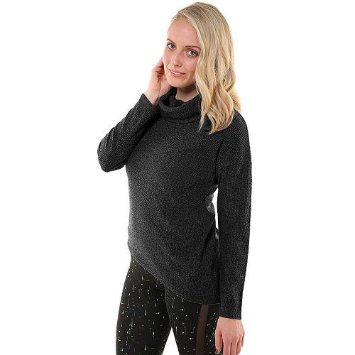 Women's Soybu Serene Asymmetrical Hem Sweater
