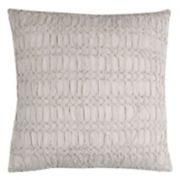 Rizzy Home Technique Textured Twist Ruched Throw Pillow