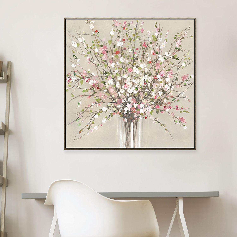 Artissimo Designs Peach Blossom Canvas Wall Art  sc 1 st  Kohlu0027s & Artissimo Designs Canvas Floral u0026 Botanical Art Home Decor | Kohlu0027s
