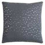 Rizzy Home Rachel Kate Dots Foil Printed Throw Pillow