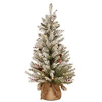 National Tree Company 3-ft. Pre-Lit Dunhill Fir Artificial Christmas Tree