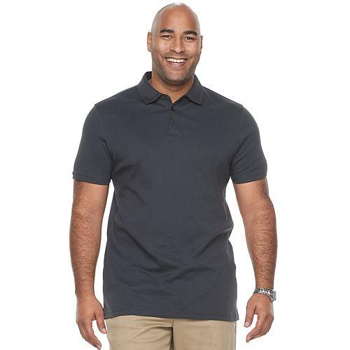 Big & Tall Apt. 9® Regular-Fit Soft Touch Stretch Interlock Polo