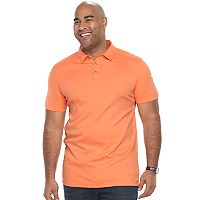 Big & Tall Apt. 9® Regular-Fit Soft Touch Stretch Interlock Polo