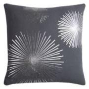 Rizzy Home Rachel Kate Starburst Foil Printed Throw Pillow