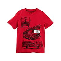 Baby Boy Carter's Fire Truck Graphic Tee