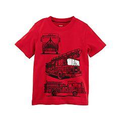 Baby Boy Carter's Fire Truck Graphic Tee