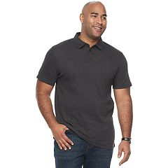 Big & Tall Apt. 9® Core Interlock Heather Polo Shirt