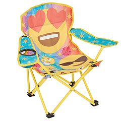 Emoticon Kid's Quad Chair by Exxel Outdoors