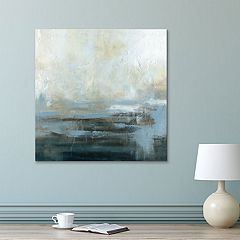 Artissimo Designs Morning Abstract Canvas Wall Art
