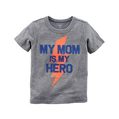 Baby Boy Carter's 'My Mom Is My Hero' Graphic Tee
