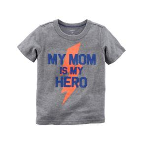"Baby Boy Carter's ""My Mom Is My Hero"" Graphic Tee"