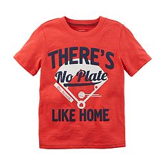 Baby Boy Carter's Baseball Plate Graphic Tee