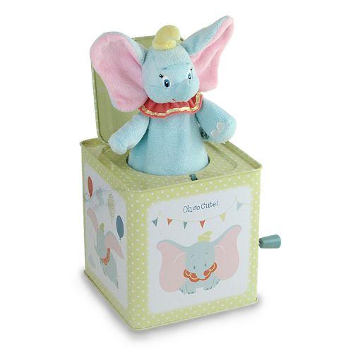 Disney's Dumbo Jack in the Box Toy