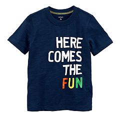 Baby Boy Carter's 'Here Comes The Fun' Graphic Tee