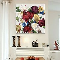 Artissimo Designs Autumn Floral Canvas Wall Art
