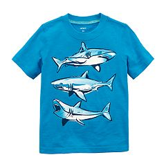 Baby Boy Carter's Trio of Sharks Graphic Tee
