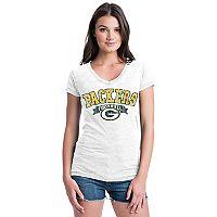Women's Green Bay Packers Burnout Rush Tee