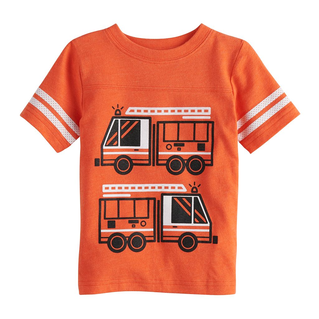Baby Boy Jumping Beans Tee Chest-Seam Graphic Tee