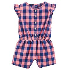 Baby Girl Carter's Plaid Romper