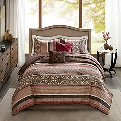 Madison Park Foster 5 pc Quilt Set