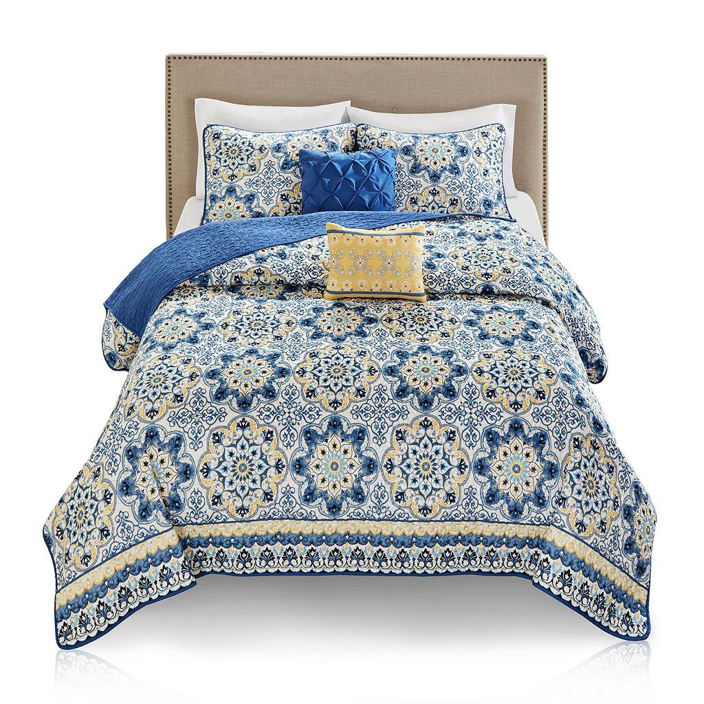 Madison Park Naples 5-piece Quilt Set