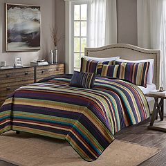 Madison Park Bryce 5 pc Quilt Set