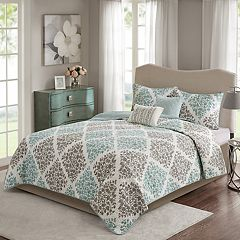 Madison Park Aurora 5 pc Quilt Set