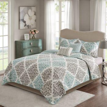 Madison Park Aurora 5-piece Quilt Set