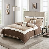 Madison Park Zion 5-piece Quilt Set
