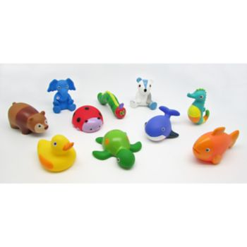 The World of Eric Carle The Very Hungry Caterpillar & Friends 10-pc. Bath Toy Squirty Set
