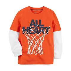 Baby Boy Carter's 'All Heart' Basketball Hoop Graphic Tee