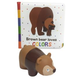 Eric Carle Brown Bear Bath Book & Squirty Set